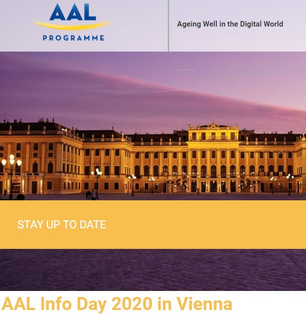 Infoday del Programma AAL – Active Assisted Living. 30 gennaio, Vienna