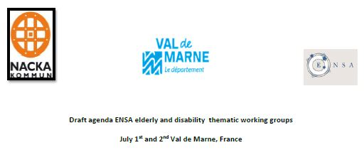 Meeting della rete ENSA e del progetto ABOVE- Abilities On the moVE. 1-2 luglio, Parigi