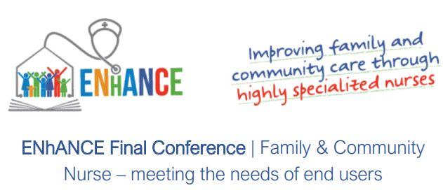 Conferenza finale del progetto ENhaANCE – Improving family and community care through highly specialized nurses.  6 & 20 maggio 2021