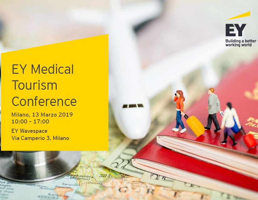 EY Medical Tourism Conference. 13 marzo, Milano
