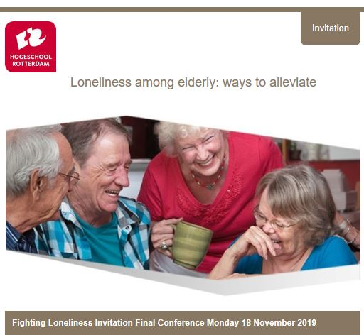 "Evento finale del progetto ""FILO - Fighting Against Loneliness"". 18 Novembre, Rotterdam"