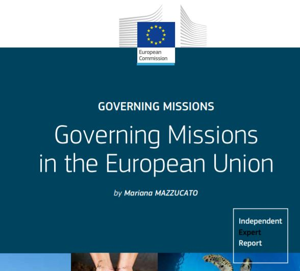 "Lancio del nuovo report ""Governing Missions in the European Union"