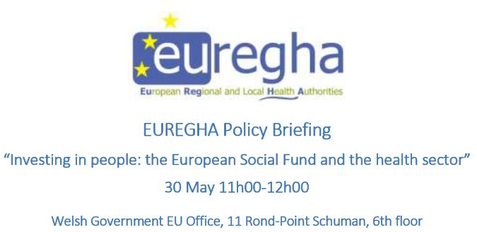 Investing in people: the European Social Fund and the health sector.  30 maggio 2018, Bruxelles