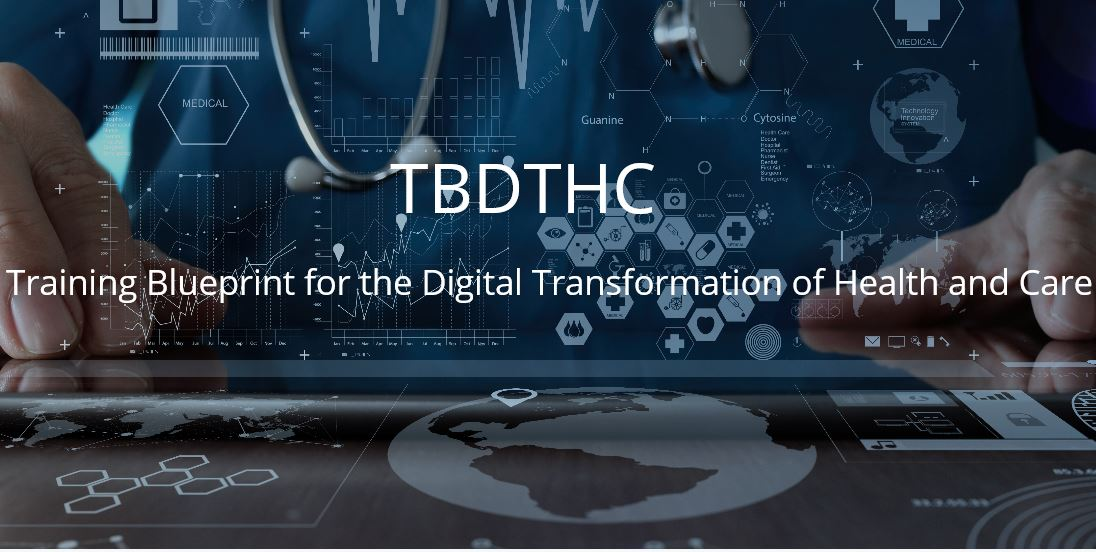 Il progetto TBDTHC - Training Blueprint for the Digital Transformation of Health and Care