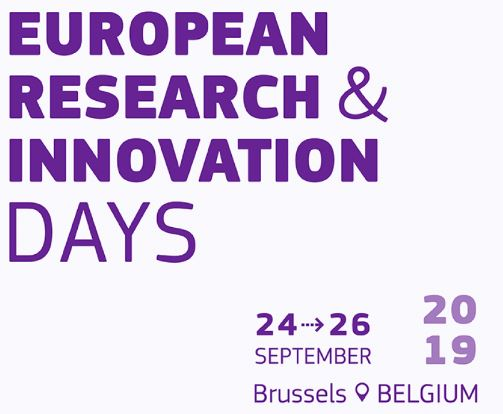 European Research & Innovation Days. 24-26 settembre, Bruxelles