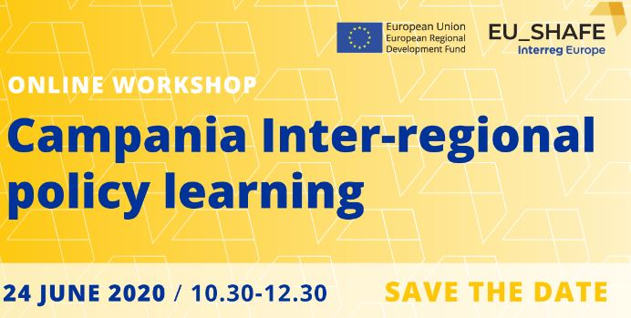 "Workshop on-line ""Campania Inter-regional policy learning"". 24 giugno 2020"